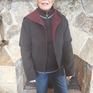 JACKET - wool and other fibers  by John Carlisle